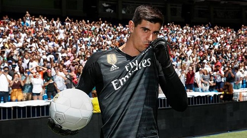 Courtois throws shade at Chelsea