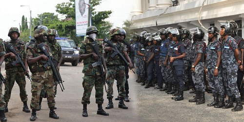 Counter-terrorism exercise in Ghana