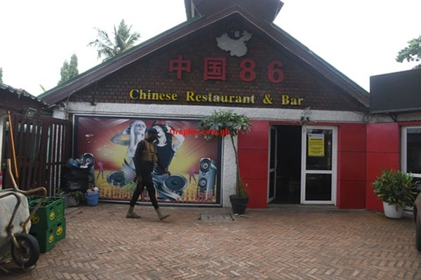 Chinese restaurant suspected to be brothel shut down by Tourism Authority