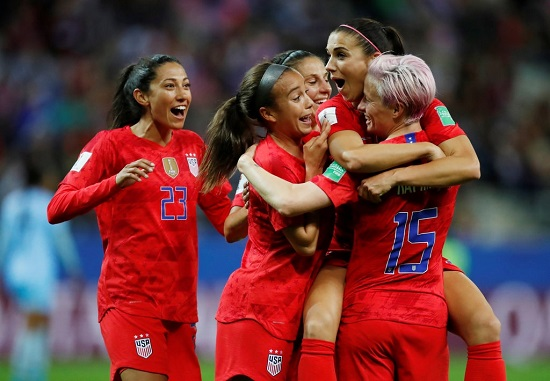 Women's World Cup: US secure biggest ever win as they put 13 past Thailand (VIDEO)