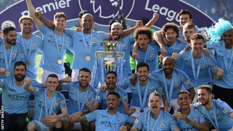 Manchester City have won the Premier League title for the past two seasons
