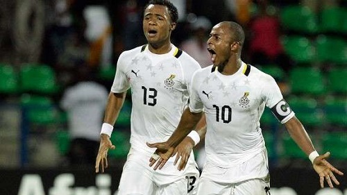 Ayew brothers start upfront for Black Stars in friendly against South Africa
