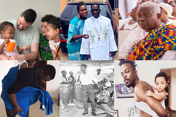 Fathers' Day : Ghanaian celebs join Fathers' Day celebration