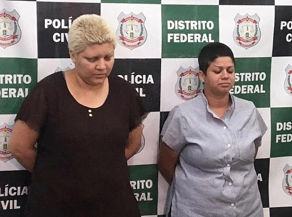 A Brazilian mother and her lesbian lover are accused of ripping off her nine-year-old son's penis before beheading him because he reminded her of her dad