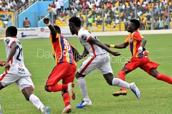 Hearts, Kotoko receive GH¢99,000 as gate proceeds