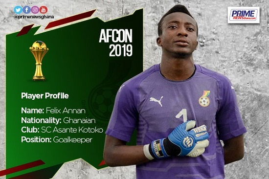 AFCON 2019: Profile of Felix Annan