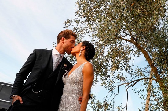 Sergio Ramos marries Pilar Rubio in Seville