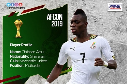 AFCON 2019: Profile of Christian Atsu