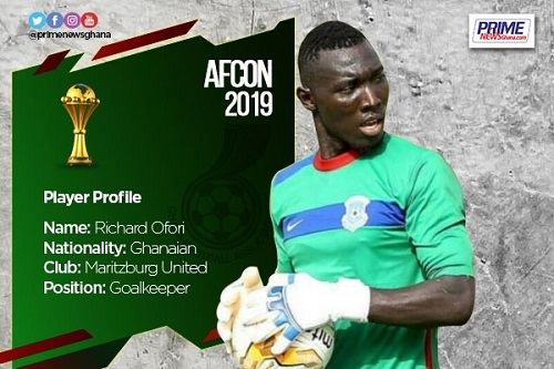 AFCON 2019: Profile of Richard Ofori