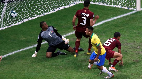 Copa America :  Salvador stalemate as Brazil see VAR rule out two goals