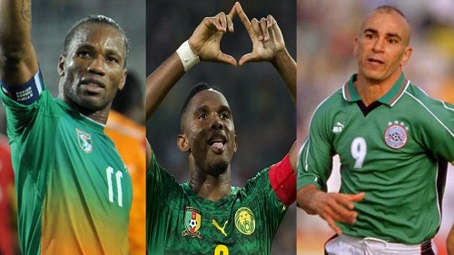 Here are the top scorers since the AFCON started in 1957