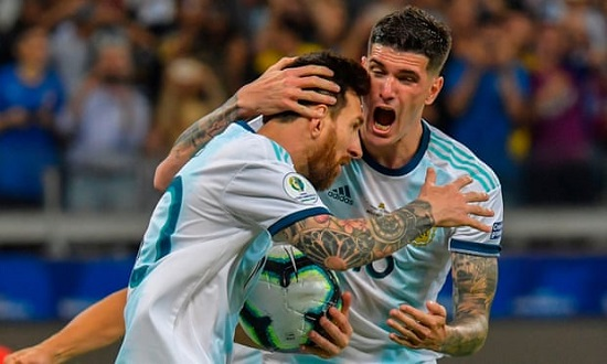 Copa America: Argentina draws with Paraguay