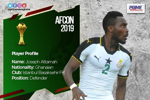 AFCON 2019: Profile of Joseph Larweh Attamah
