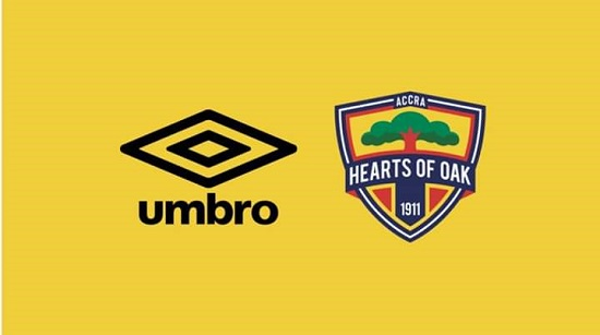 Hearts of Oak to officially announce Umbro deal tomorrow