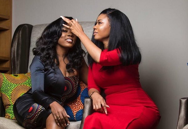 Serwaa Amihere surprises Nana Aba Anamoah on her birthday