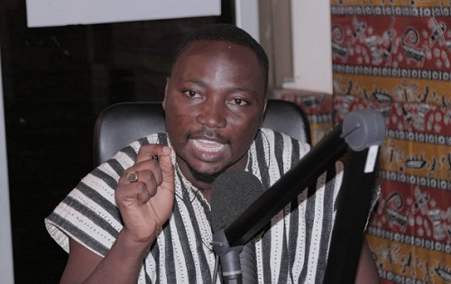 Communications Director deputy for Bortianor Ngleshie Amanfrom NDC Mr Edward Mortey a.k.a General