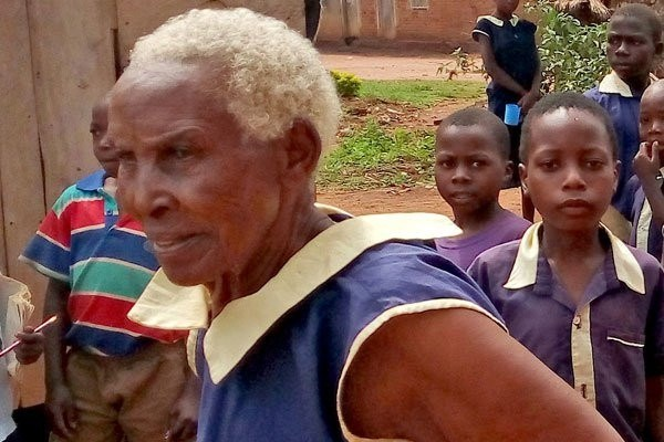 80-year-old woman enrolls for Primary one, aims to become a teacher