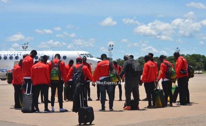 CAFCC: Kotoko arrives in Zambia ahead of Zesco clash