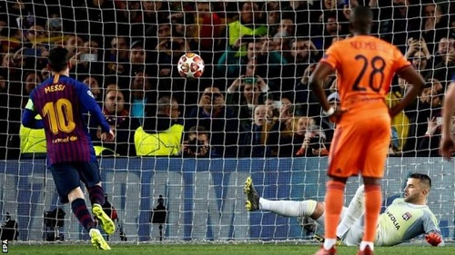 VIDEO: Messi stars, as Barca ease past Lyon to progress to quarter-finals