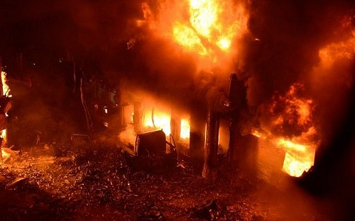 A/R: Fire kills 13-year old boy at Asafo