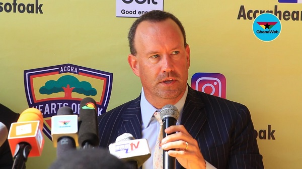 Mark Noonan bids farewell to Hearts of Oak after resigning as CEO