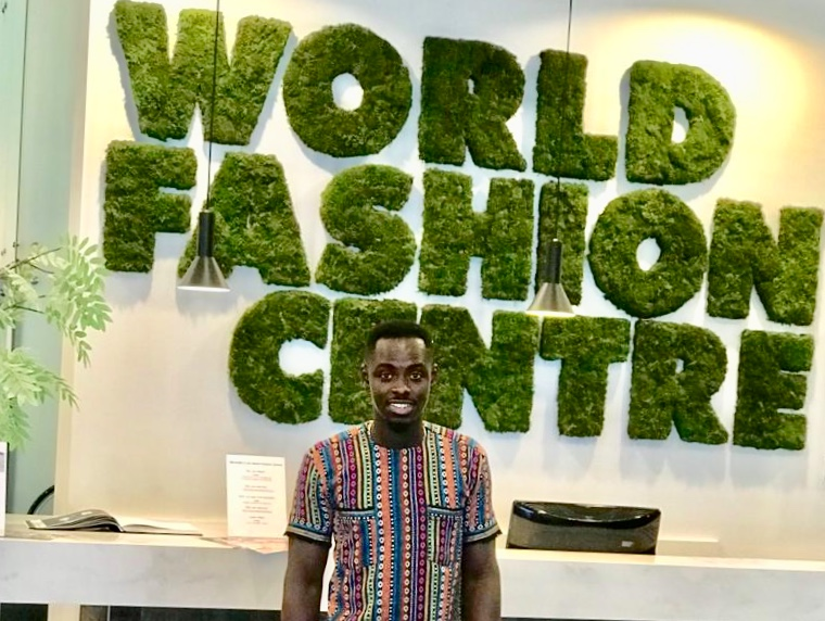 Ghanaian fashion designer, Bello Couture goes international