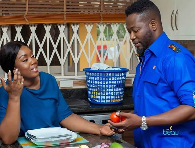 I do the dishes at home - Adjetey Anang
