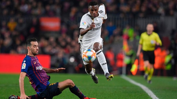 I chose Madrid project over Barca money- Vinicius Jnr