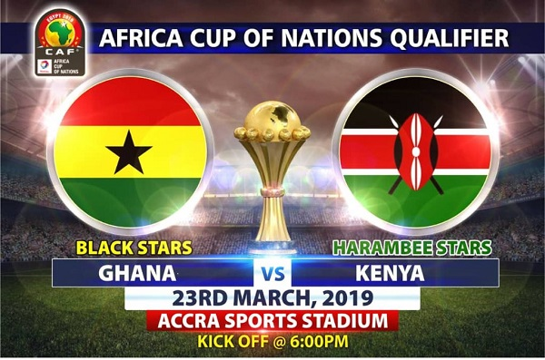AFCON 2019: Ticket prices out for Ghana vs Kenya clash