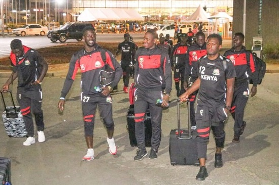AFCON 2019: Kenya depart to Accra for Ghana clash
