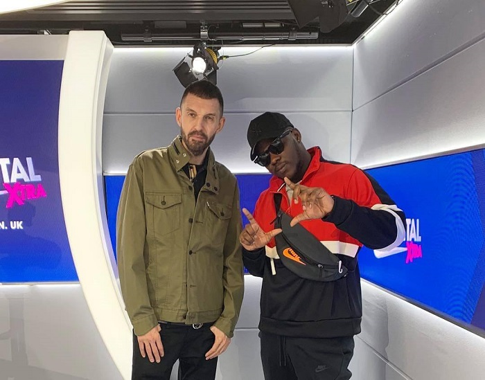 Medikal's freestyle on TimWestwood show in London