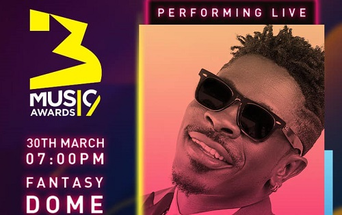 Shatta Wale, open act for 2019 3Music Awards