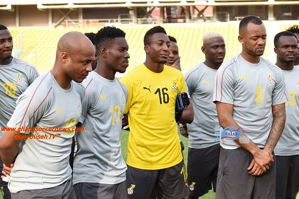 AFCON 2019 Q: Black Stars to hold final training session today (PHOTO CREDIT- ghanasoccernews