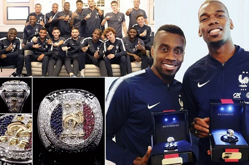 What Pogba and Griezmann bought France teammates for World Cup win