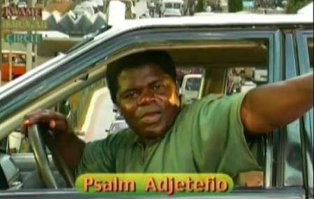 I learnt driving through Taxi Driver series- Psalm Adjeteyfio (T.T)