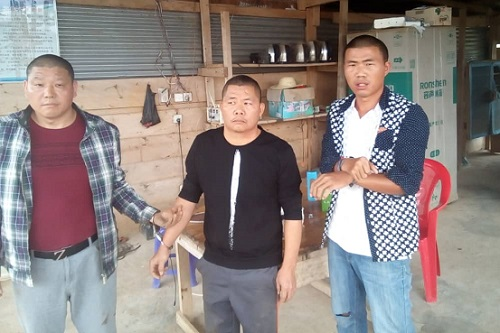 PHOTOS: 7 Chinese illegal miners arrested
