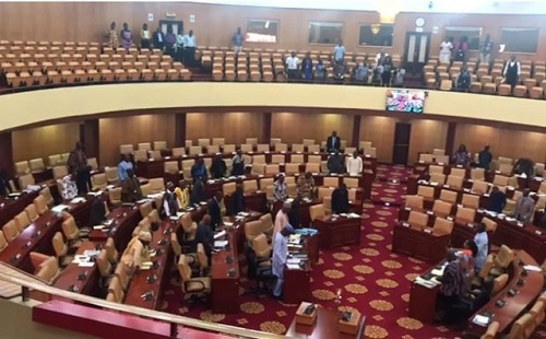 VIDEO: MPs snub Kintampo victims; hold a minute silence for New Zealand shooting