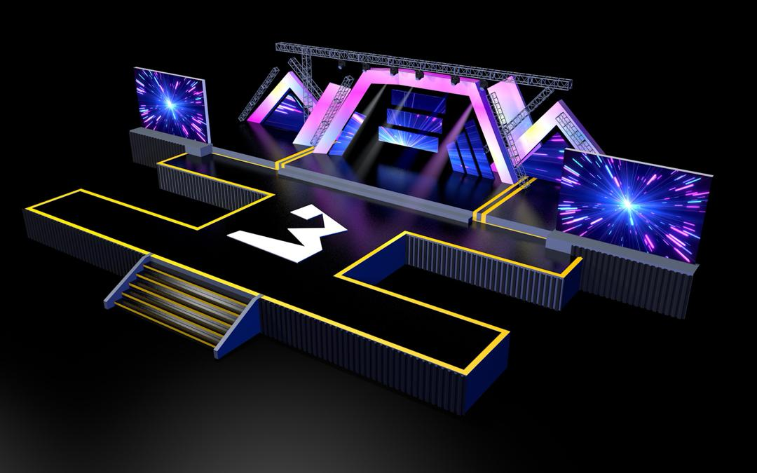 3MusicAwards19: Check out the stage production design