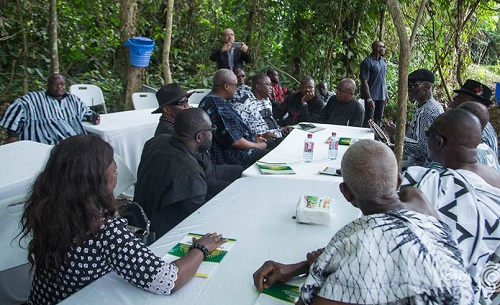 Mahama debunks NDC 'forest meeting' reports