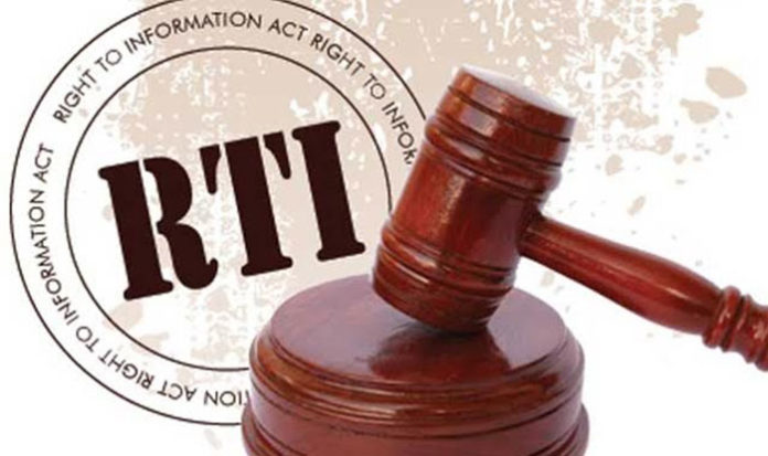 Right to information Bill - RTI