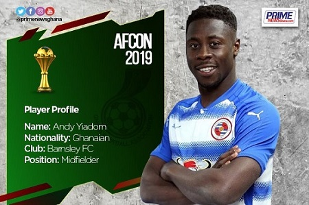 AFCON 2019: Profile of Andy Yiadom