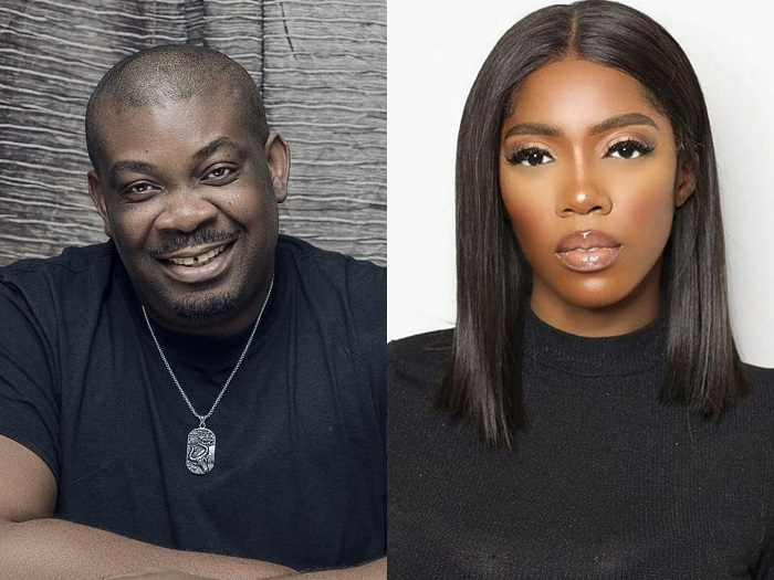 Check out Don Jazzy's farewell message to Tiwa Savage after her exit