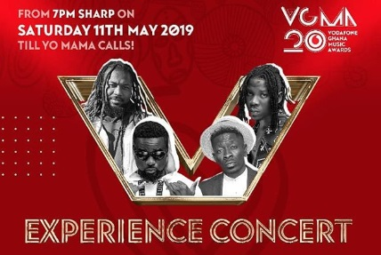 VGMA19: Sarkodie, Shatta Wale,Stonebwoy, Samini, others to perform at 'Experience Concert'VGMA19: Sarkodie, Shatta Wale,Stonebwoy, Samini, others to perform at 'Experience Concert'