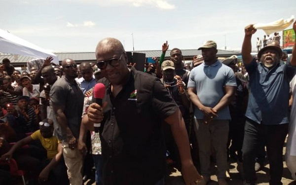 "NDC launches ""2020 door-to-door campaign for Mahama"""