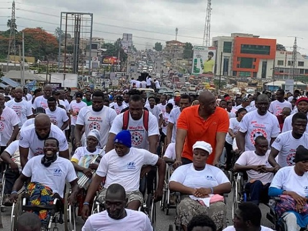 PHOTOS : May 9 anniversary held as Herbert Mensah leads thousands to walk for victims