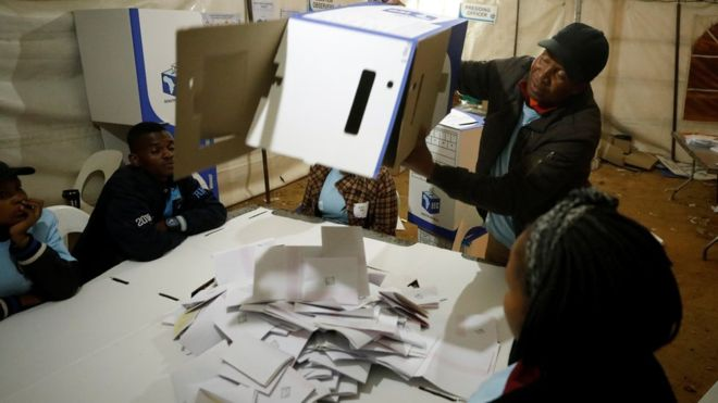 ANC takes lead in South Africa elections