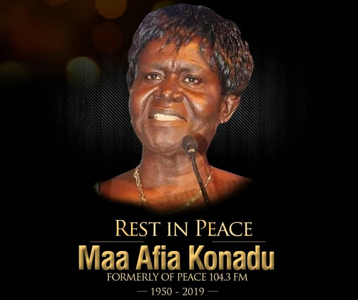 Peace FM's Afia Konadu one-week