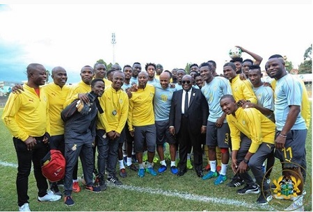 AFCON 2019: Only teamwork can make you win the trophy - Akufo-Addo advises Black Stars