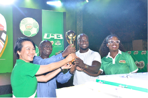 PHOTOS: Nestle Milo launches 2019 U-13 Champions League