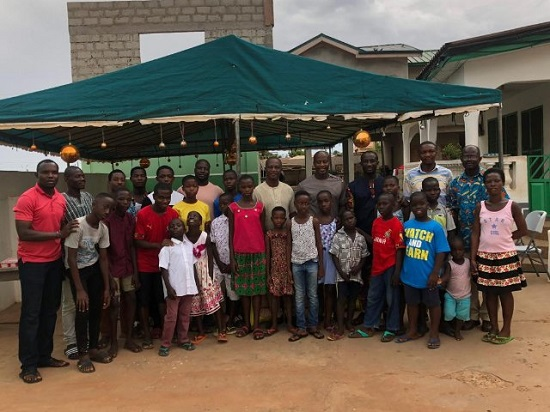 AFCON 2019: Black Stars technical team donates to Teshie Children's Home
